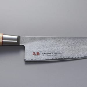 Kokkekniv 200mm, Suncraft Twisted, twisted octagon, japansk kokkekniv, japansk kjøkkekniv, suncraft senzo twisted octagon, suncraft twisted chef 200mm
